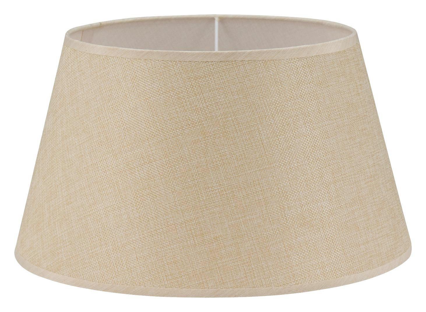 LEUCHTENSCHIRM  Creme  Textil  E27 - Creme, Design, Textil (35/19cm) - MARAMA