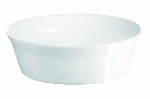 AUFLAUFFORM Porzellan - Weiß, Basics (16.0/5.0cm) - ASA
