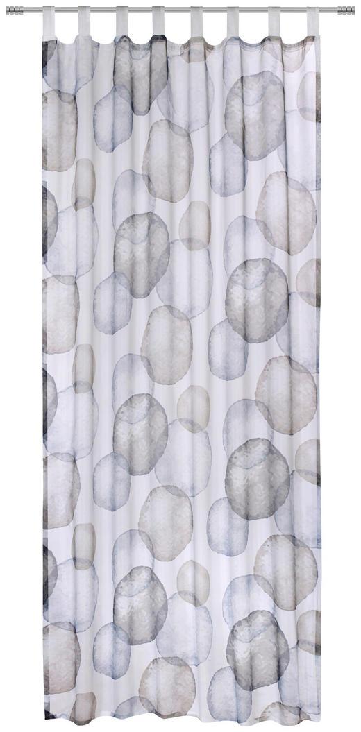 FERTIGVORHANG  halbtransparent  135/245 cm - Braun/Grau, KONVENTIONELL, Textil (135/245cm) - Esposa