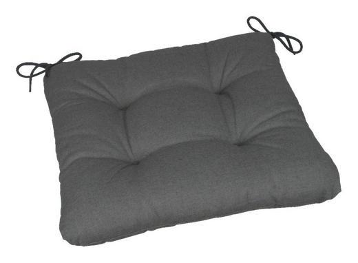 GARTENSITZKISSEN - Anthrazit, Design, Textil (38/5/38cm)