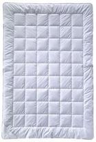 CELOLETNA PREŠITA ODEJA BAMBOO - bela, Basics, tekstil (135-140/200/cm) - Billerbeck