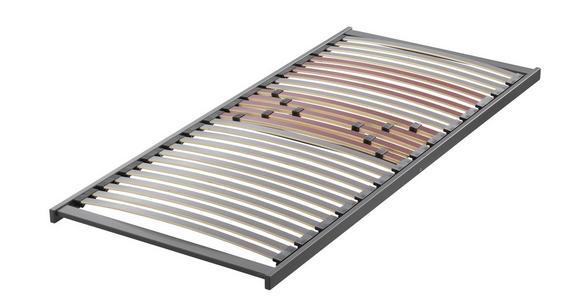 MATRATZENSET 90/200 cm  - Anthrazit/Rot, Basics, Holz (90/200cm) - Sleeptex
