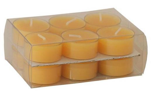 TEELICHT 12 - Gelb, Basics (3,8/1,8cm) - Steinhart