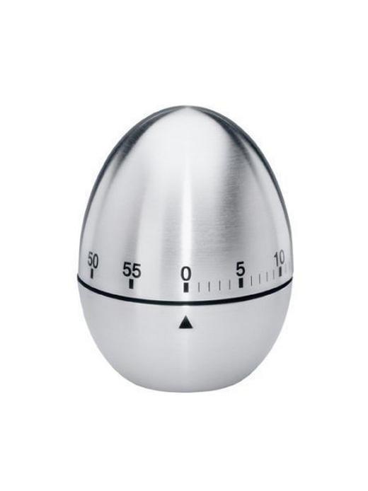 KURZZEITWECKER - Edelstahlfarben, Basics, Metall (6cm) - Justinus