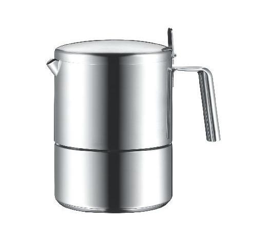 KUHALO ZA ESPRESSO - boje srebra, Basics, metal (10,5cm) - WMF
