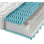 TASCHENFEDERKERNMATRATZE 80/200 cm  - Weiß, Basics, Textil (80/200cm) - Sleeptex