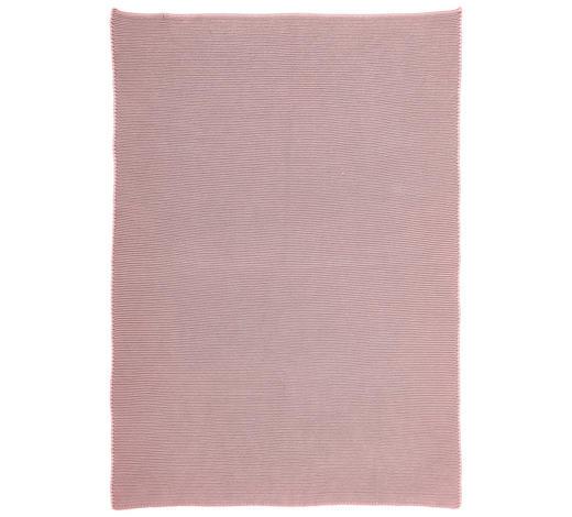 DEKA PLYŠOVÁ - růžová/krémová, Basics, textil (80/100cm) - Patinio