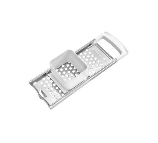 SPÄTZLEHOBEL - Silberfarben/Weiß, Basics, Kunststoff/Metall (33cm) - Fackelmann