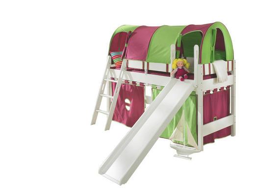 SPIELBETT teilmassiv 90/200 cm Weiß - Weiß, Design, Holz (90/200cm) - PAIDI