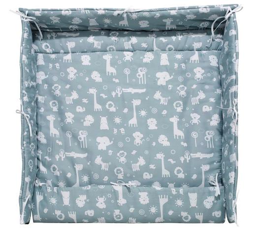 LAUFGITTEREINLAGE - Blau, Basics, Textil (70/100/70/100cm) - Alvi