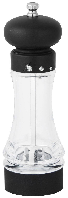 SALZMÜHLE - Transparent/Schwarz, KONVENTIONELL, Keramik/Kunststoff (19cm) - Homeware
