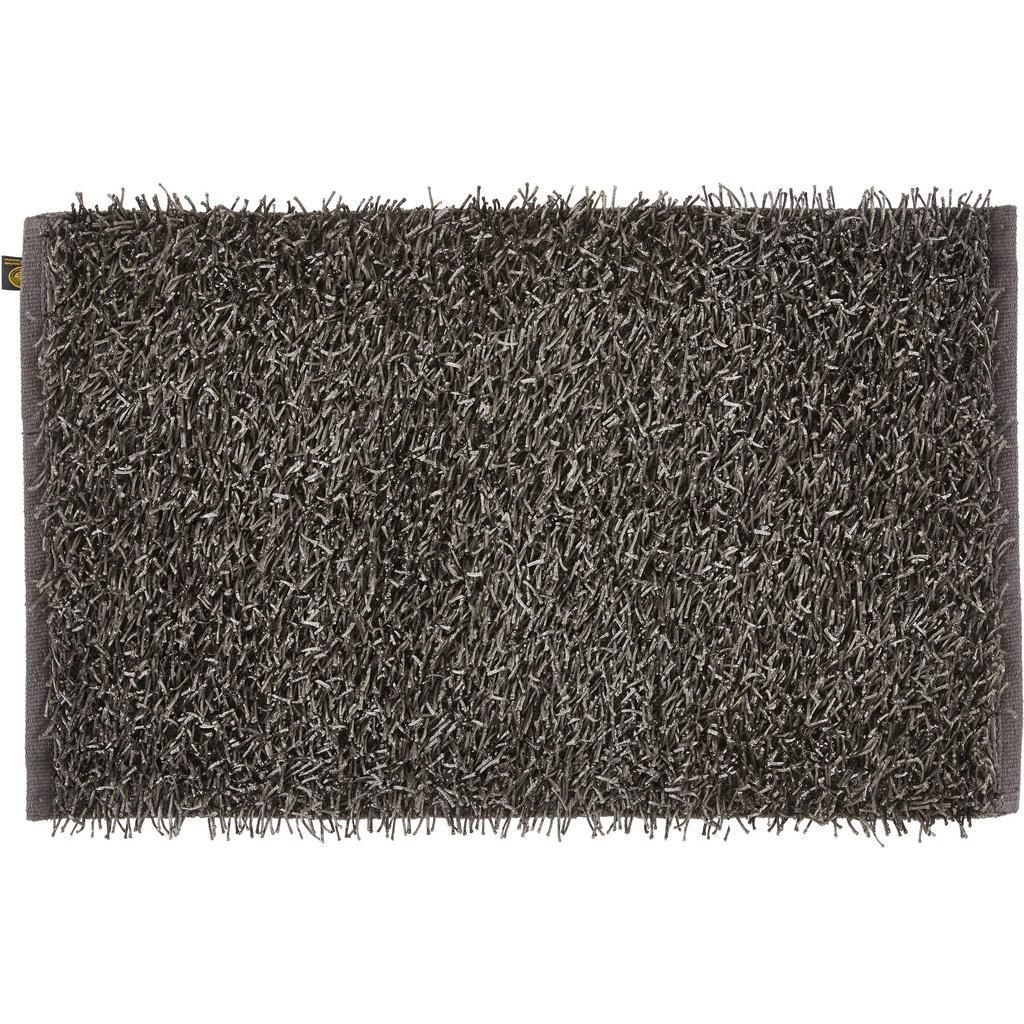 Esposa Badteppich shaggy anthrazit 60/100 cm , 1012-91-74-L Shaggy , Textil , Uni , 60 cm , Hochflor , für Fußbodenheizung geeignet, rutschhemmend , 004118057907