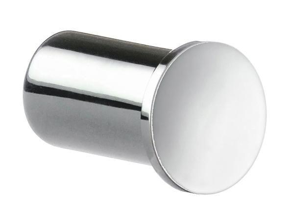HANDTUCHHAKEN - Chromfarben, Basics, Metall (1,9/3,1cm)