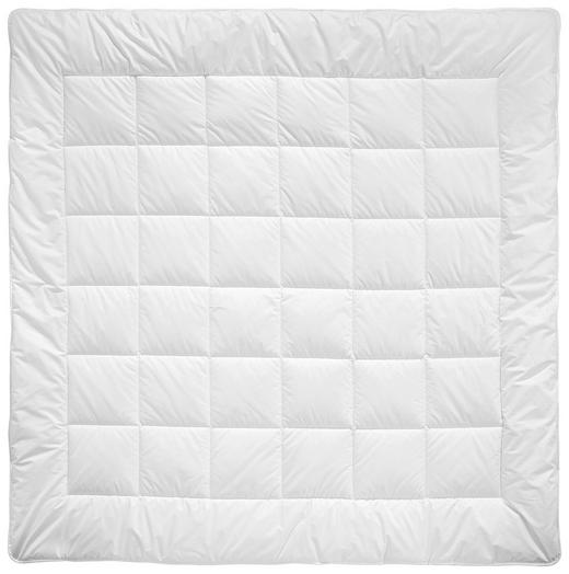 GANZJAHRESBETT  200/200 cm - Weiß, Basics, Textil (200/200cm) - BILLERBECK