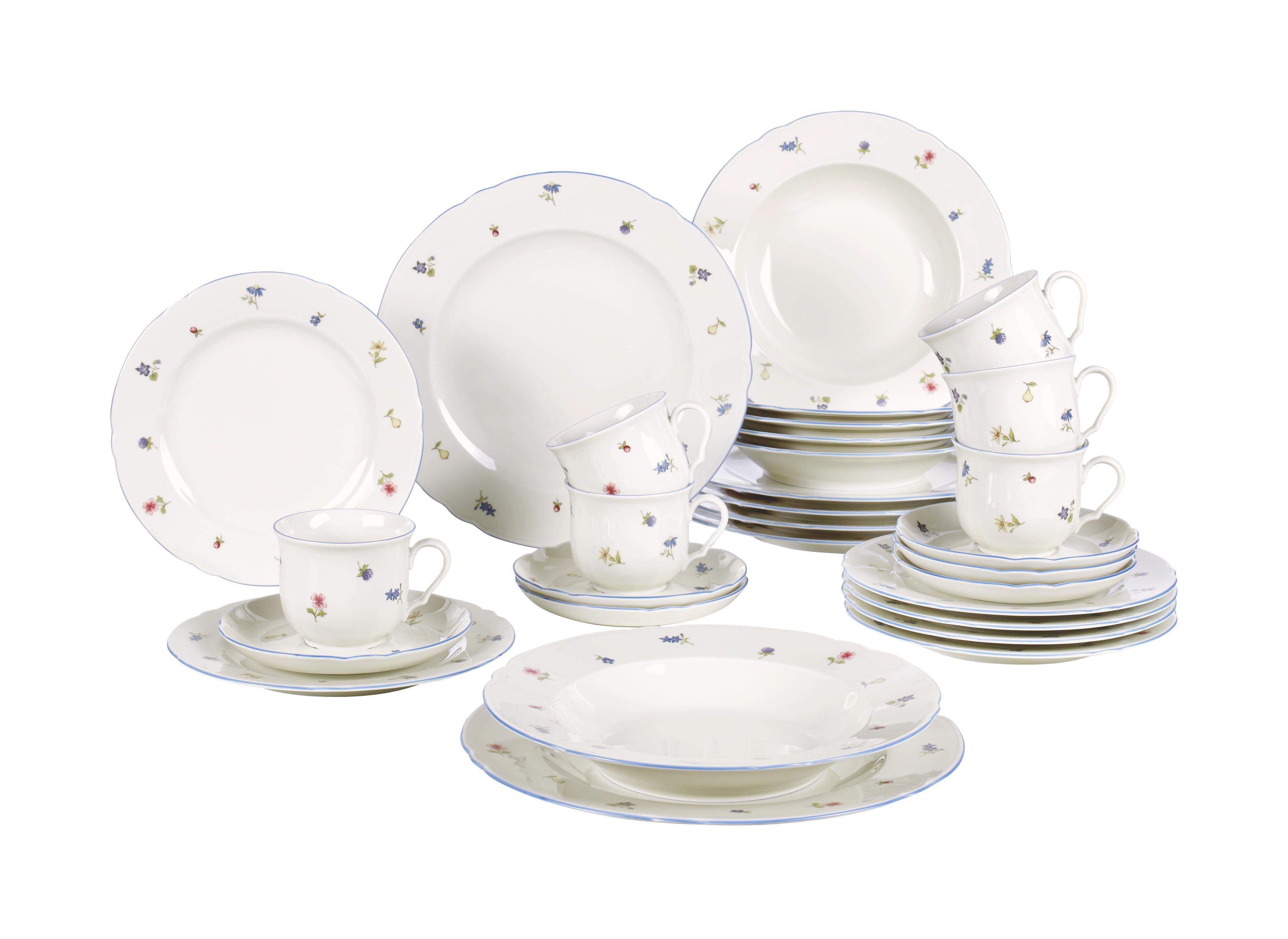 SET 30/1 SERVIS MARIE LUISE - krem, Trendi, keramika (33/30/44cm) - SELTMANN