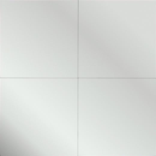 SPIEGEL - Silberfarben, KONVENTIONELL (30/30/0,3cm) - Carryhome