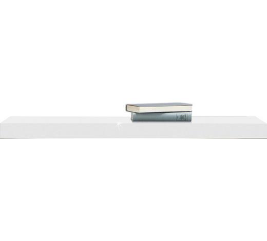 WANDBOARD furniert Weiß - Weiß, Basics, Holz (90/25cm)
