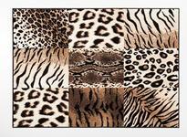 Webteppich Joe - Hellbraun, Basics, Textil (100/160cm) - Ombra
