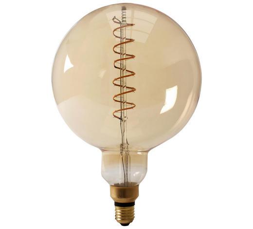 LED-Leuchtmittel E27 - Goldfarben, Basics, Glas (20cm) - Calex