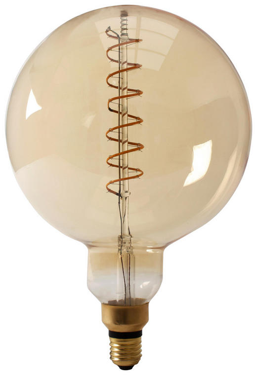 LED-LEUCHTMITTEL  E27 4 W - Goldfarben, Basics, Glas (20cm)