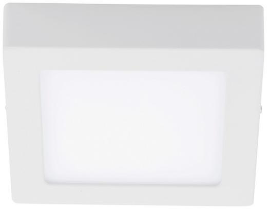 LED-DECKENLEUCHTE - Weiß, Design, Metall (17/17/3,5cm)