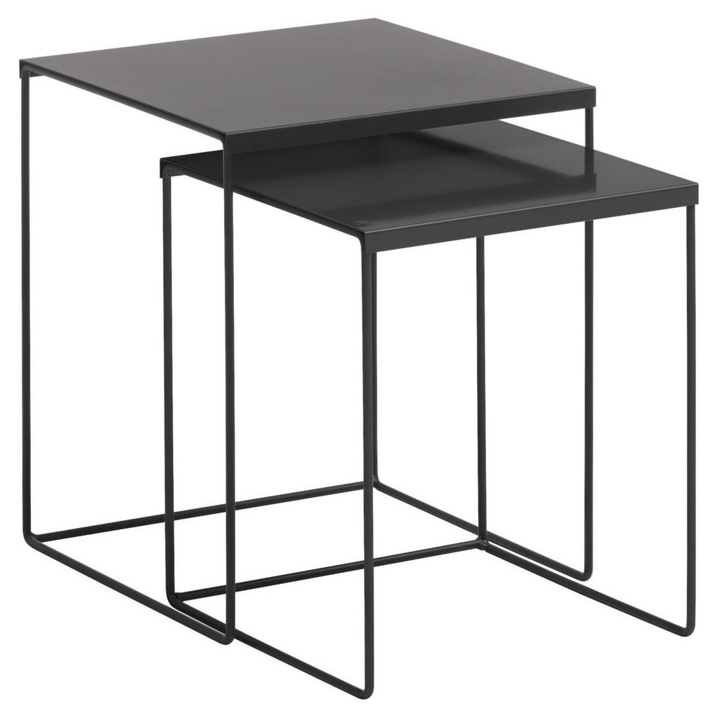 XXXL SATZTISCH Grau | Wohnzimmer > Tische > Satztische & Sets | Metall | XXXL Shop