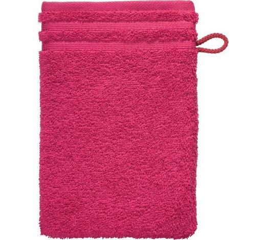 WASCHHANDSCHUH - Pink, Basics, Textil (22/16cm) - Vossen