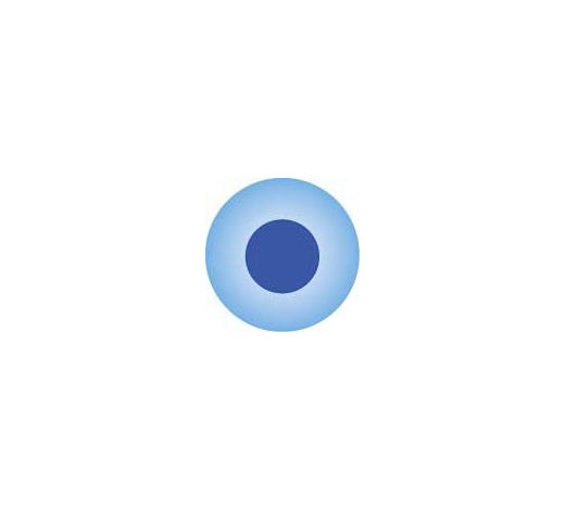 CLICKPERLE 0 Monat(e) - Blau, Trend, Kunststoff (0,12cm)