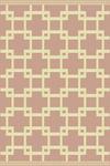 WEBTEPPICH  120/170 cm  Rosa, Weiß - Rosa/Weiß, Design, Textil (120/170cm) - Boxxx