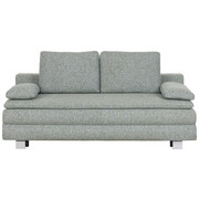 BOXSPRINGSOFA in Multicolor Textil - Chromfarben/Multicolor, Design, Textil/Metall (204/95/100cm)