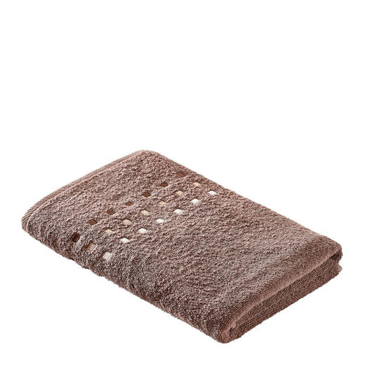 DUSCHTUCH 70/140 cm - Taupe, Basics, Textil (70/140cm) - Esposa