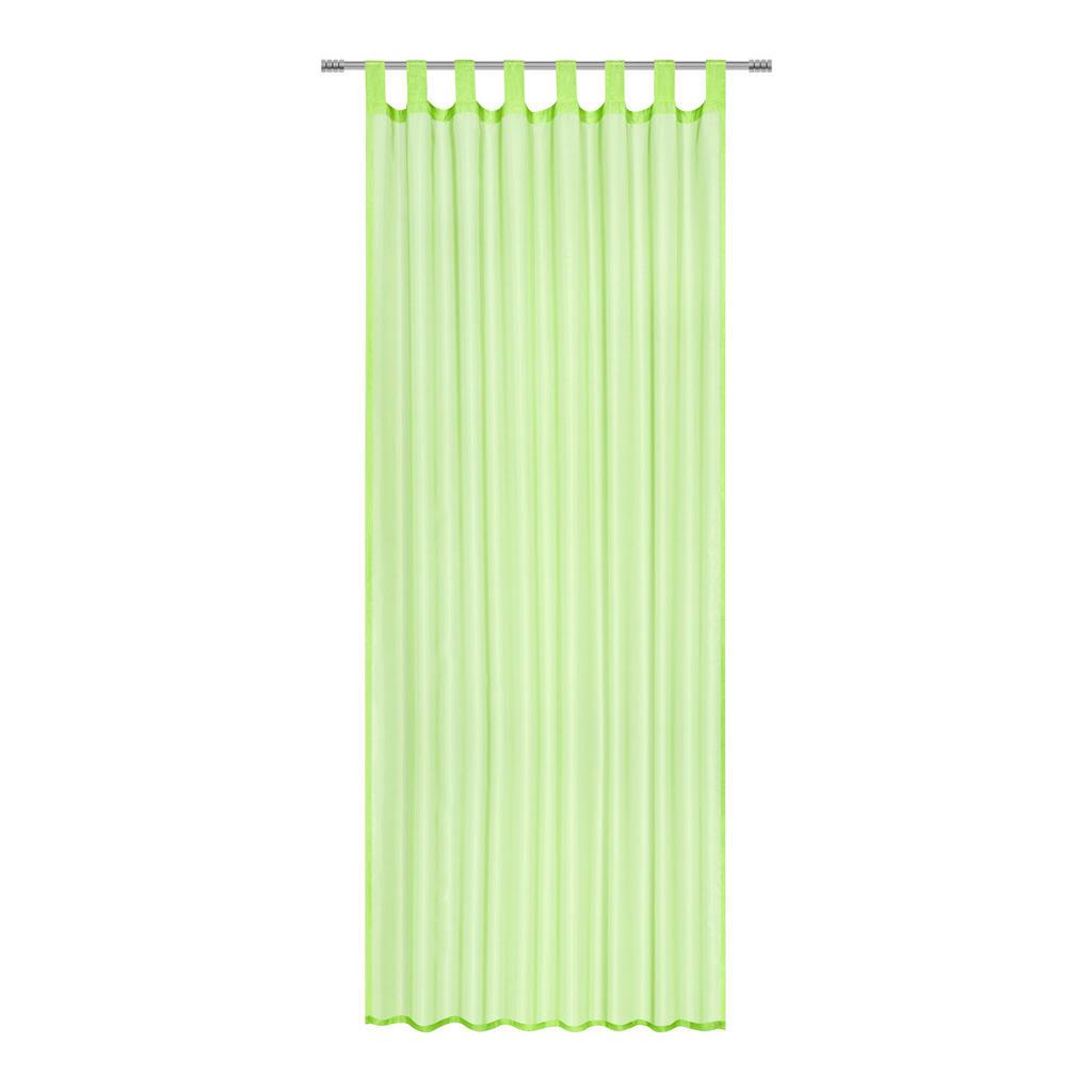 Transparenter Schlaufenschal in Grün