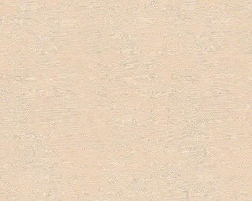 VLIESTAPETE 10,05 m - Beige/Orange, Basics, Textil (53/1005cm)