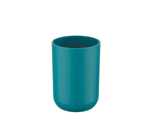 ZAHNPUTZBECHER - Petrol, Basics, Kunststoff (7,3/10,3cm)