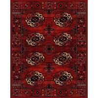 WEBTEPPICH - Rot, MODERN, Textil (120/170cm) - Novel