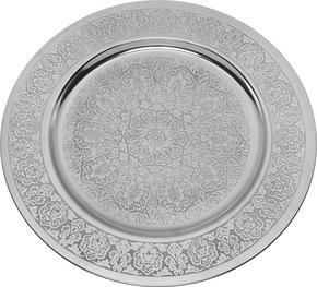 DEKORATIONSFAT - silver, Lifestyle, metall (35/1cm) - Ambia Home