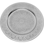 DEKOTELLER - Silberfarben, LIFESTYLE, Metall (35/1cm) - Ambia Home
