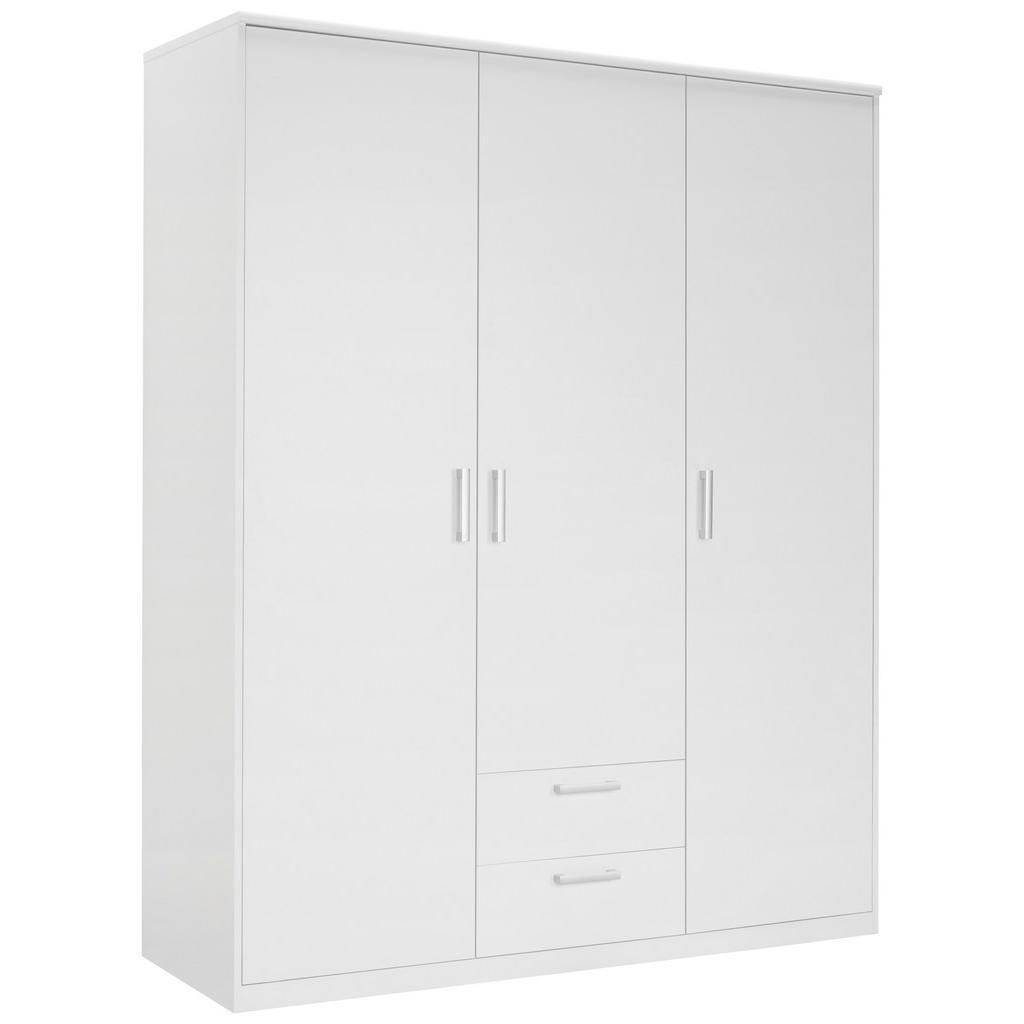 Xora Kleiderschrank 3-türig weiß