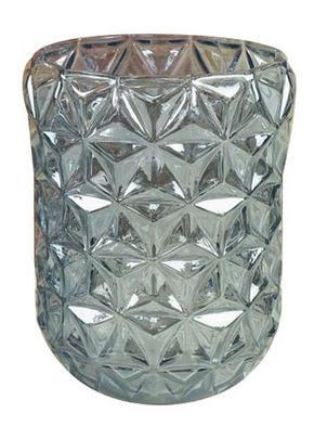 LJUSSTAKE - blå, Trend, glas (12/16,5cm) - Ambia Home
