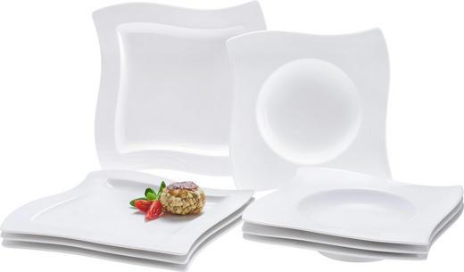 Porzellan  TAFELSERVICE  8-teilig - Weiß, Basics, Keramik - Villeroy & Boch