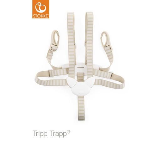 SICHERHEITSGURT Tripp Trapp   - Beige, Basics, Kunststoff/Textil - Stokke