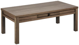COUCHTISCH in Holz 112/58/42 cm   - Dunkelbraun, KONVENTIONELL, Holz/Metall (112/58/42cm) - Carryhome