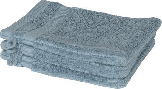 WASCHHANDSCHUH  Hellblau  3-teilig - Hellblau, Textil (16/21cm) - Schöner Wohnen
