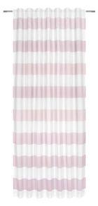 GOTOVA ZAVJESA - roza/bijela, Design, tekstil (140/245cm) - Esposa