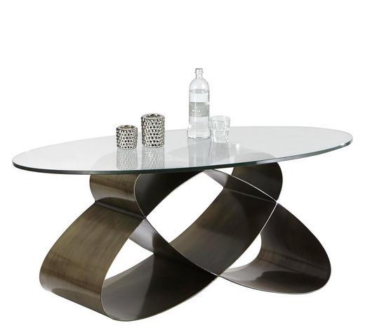 Couchtisch In Glas Metall 117 70 47 Cm Online Kaufen Xxxlutz