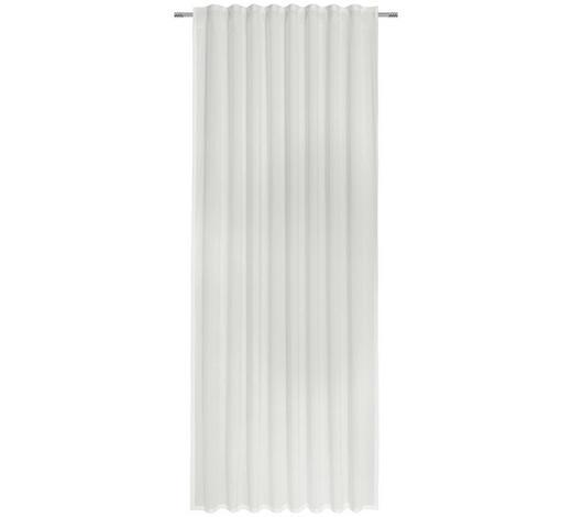 FERTIGVORHANG transparent - Hellgrau, KONVENTIONELL, Textil (140/245cm) - Esposa