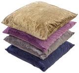 Zierkissen Venezia - Sandfarben/Blau, KONVENTIONELL, Textil (30/48cm) - Ombra