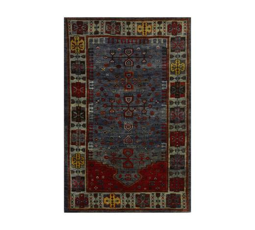 ORIENTTEPPICH 90/160 cm - Blau, LIFESTYLE, Textil (90/160cm) - Esposa