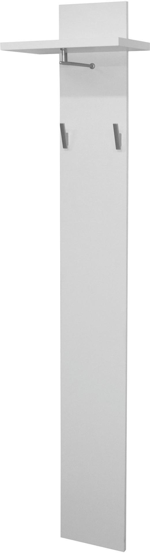 GARDEROBENPANEEL Weiß - Weiß, Design (40/188/26cm) - CARRYHOME