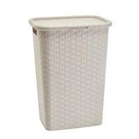 Wäschekorb - Beige, Basics, Kunststoff (44/33/60cm) - Homeware
